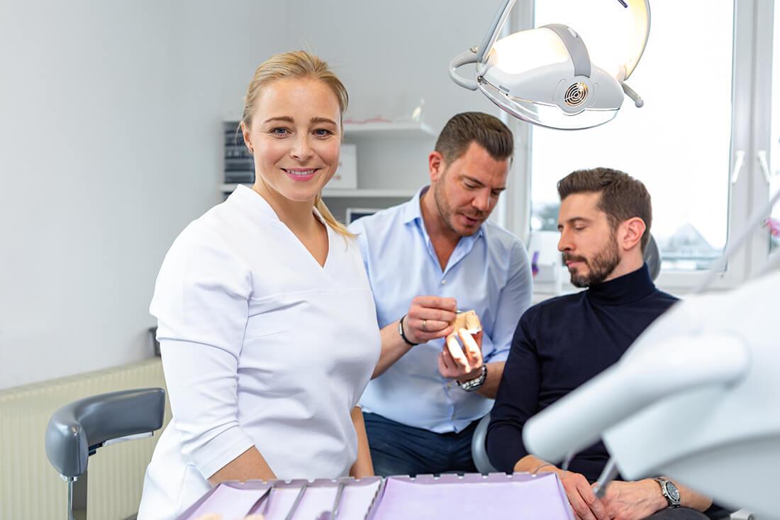 Zahnarzt Klosterneuburg - Dr. Sandra Dusek - Leistungen Prothetik