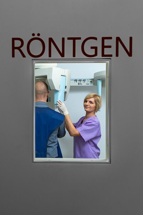 Zahnarzt Klosterneuburg - Dr. Sandra Dusek - Ordination Röntgensituation